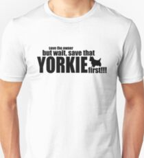 Love your Yorkie Unisex T-Shirt
