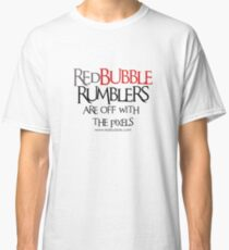 RB Rumble shirt ~ Off with the pixels (black text) Classic T-Shirt