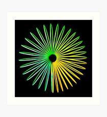 Abstract Hologram Art Print