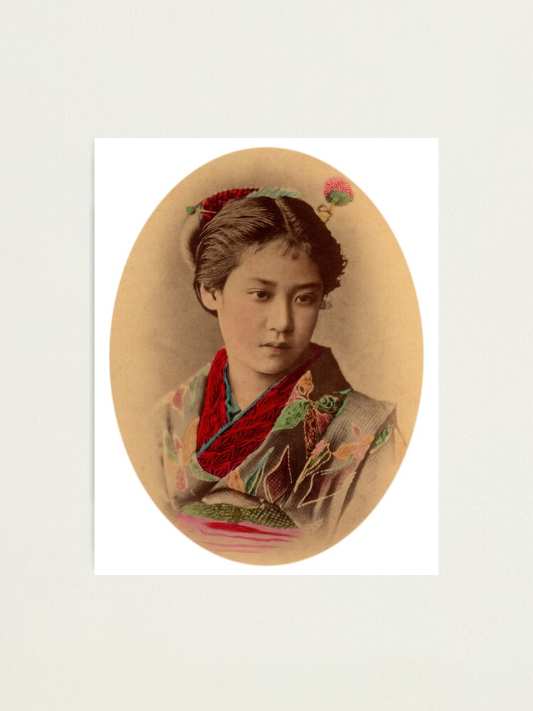 Alternate view of Japanese girl Photographic Print