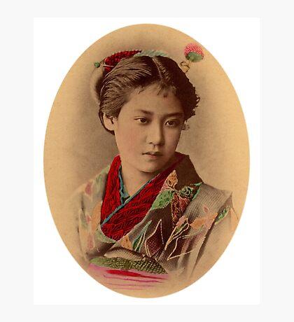 Japanese girl Photographic Print
