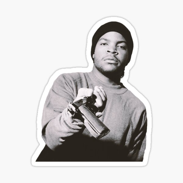 ICE CUBE Young Sticker