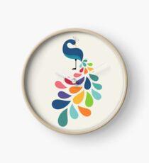 Dreamy Petal Clock