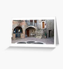 Place Du Four Greeting Card