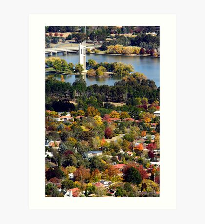 Canberra Art Print