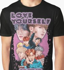 BTS Love Yourself Graphic T-Shirt