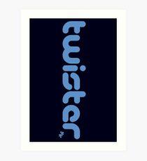 Twister BJJ Art Print
