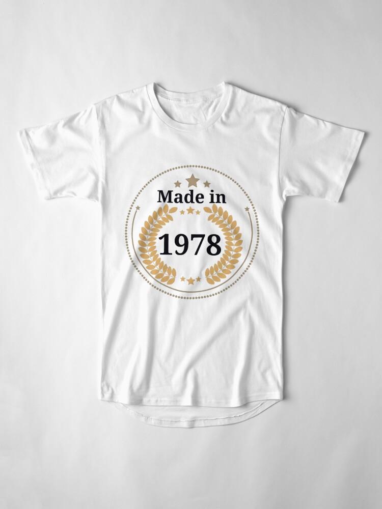 Alternative Ansicht von Hergestellt im Jahr 1978 Longshirt