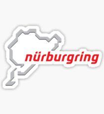 Pegatina Etiqueta engomada de Nurburgring