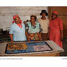 Master Weavers, Maseru Tapestries Co-op, Lesotho by Lillian Trettin