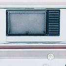 Frost-Covered Camper Van Window by visualspectrum