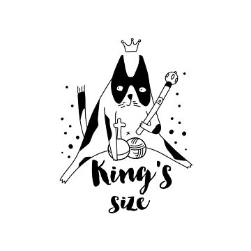 Kings size cat by Catme