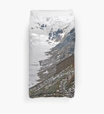 High up in the Alps Duvet Cover