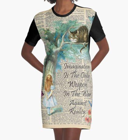 Cita de Alicia en el país de las maravillas - Imaginación - Página de diccionario Vestido camiseta
