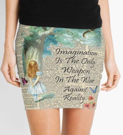Cita de Alicia en el país de las maravillas - Imaginación - Página de diccionario Minifalda