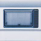 Frost-Covered Caravan Window by visualspectrum