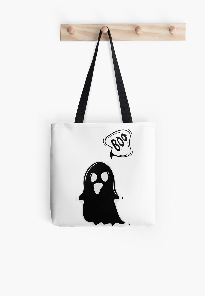 Boo Cute Ghost Halloween by LemoBoy