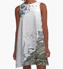 High up in the Alps A-Line Dress