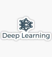Deep Learning Logo Sticker
