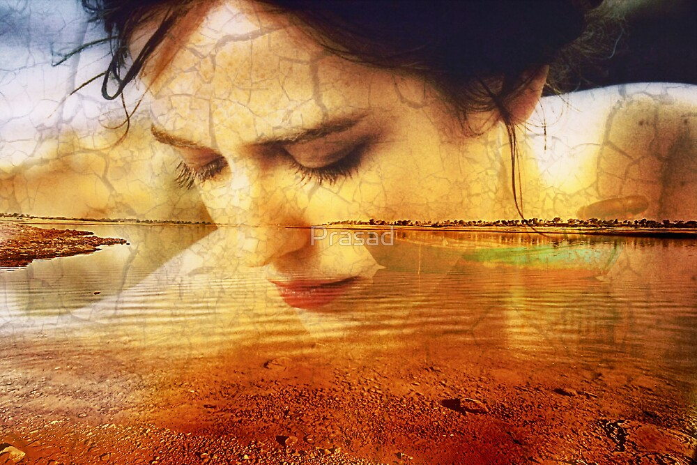 In her memories....... by Prasad
