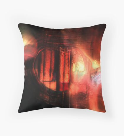Guitar Abstract Throw Pillow
