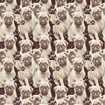 Pugs All Over!! by IowaArtist