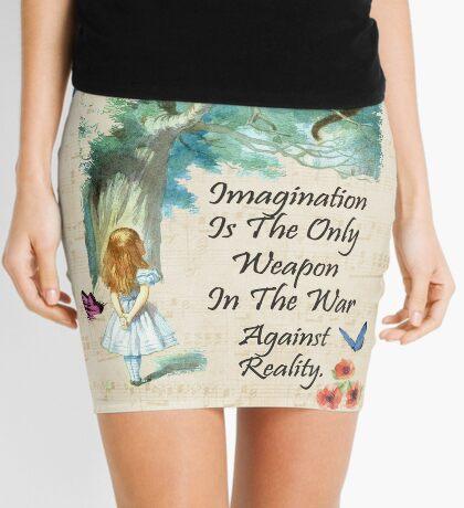 Cita de Alicia en el país de las maravillas - Imaginación Minifalda