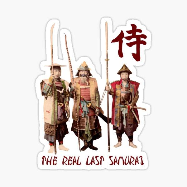 The Real Last Samurai Sticker