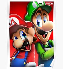 Miitoons' Super Mario Bros.  Poster