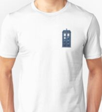Watercolour TARDIS Unisex T-Shirt