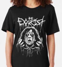 Black Metal Exorcism Slim Fit T-Shirt