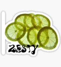 Zesty Sticker