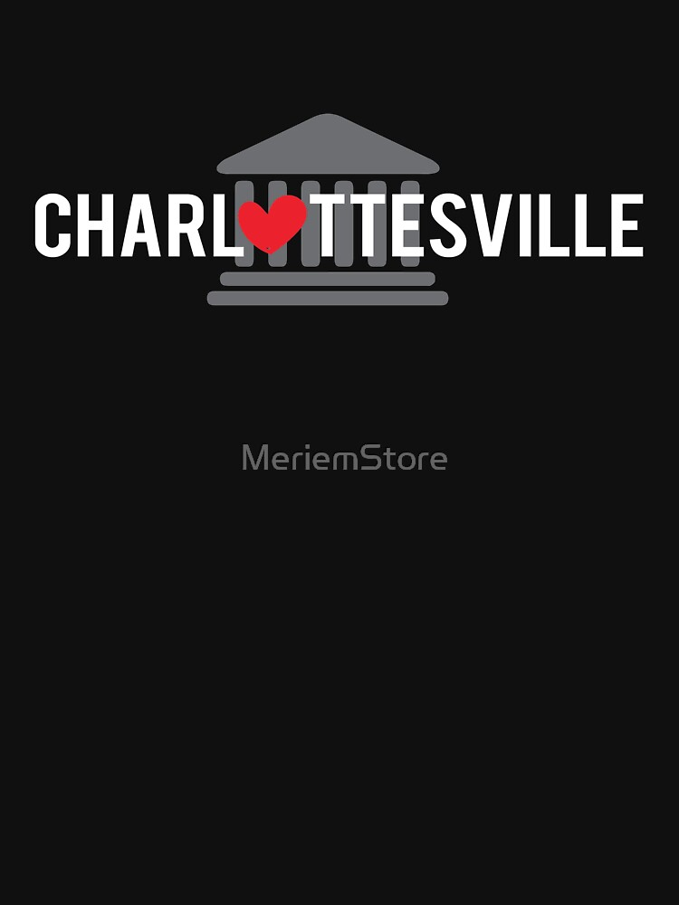 Heart Charlottesville -  We love Charlottesville  by MeriemStore