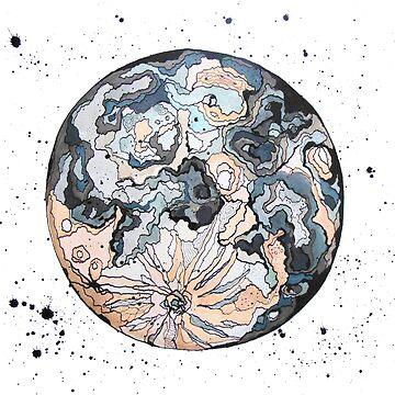 Moon by Kuhtina