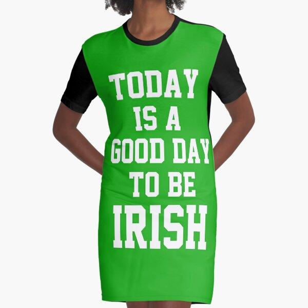 Funny St Patricks Day Todays A Good Day to Get Drunk Sweatshirt Irish Green