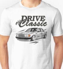 "W201 ""Drive the Classic"" Unisex T-Shirt"