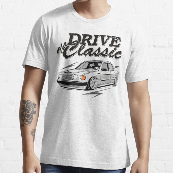 """W201 """"Drive the Classic"""" Essential T-Shirt"""