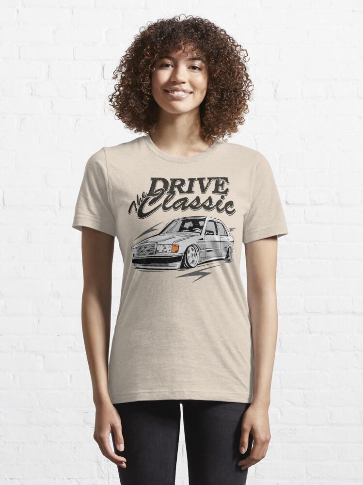 """Alternative Ansicht von W201 """"Drive the Classic"""" Essential T-Shirt"""