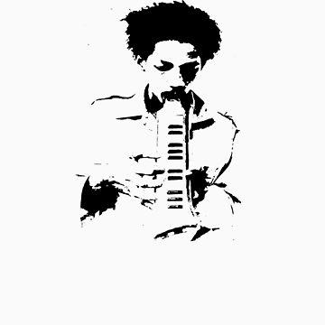 Augustus Pablo by lynettejwhyman