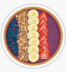 Smoothie bowl Sticker