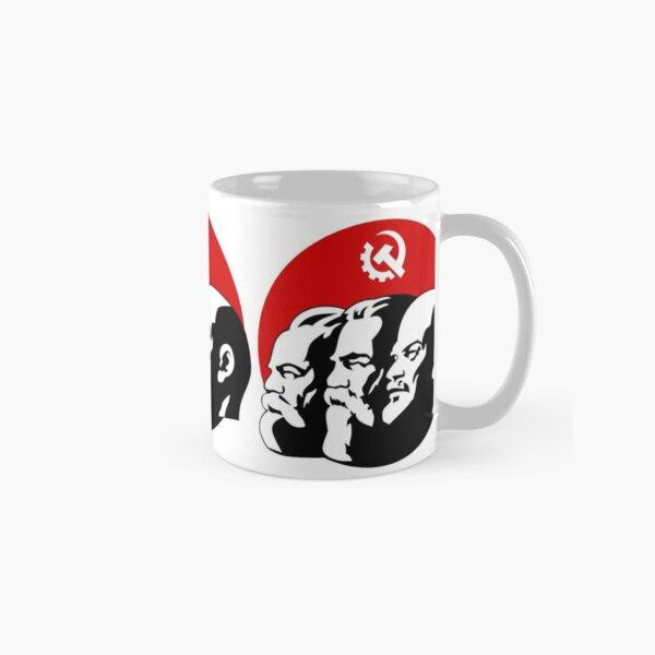 marx lenin communism uss soviet symbol retro revolution flag hammer circle russia manifest Classic Mug