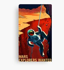 spaceX mars edition Canvas Print