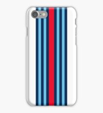 Single Martini stripe iPhone Case/Skin