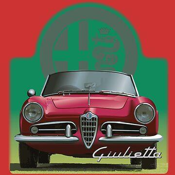 Alfa Romeo Giulietta /  Giulia by fmd159