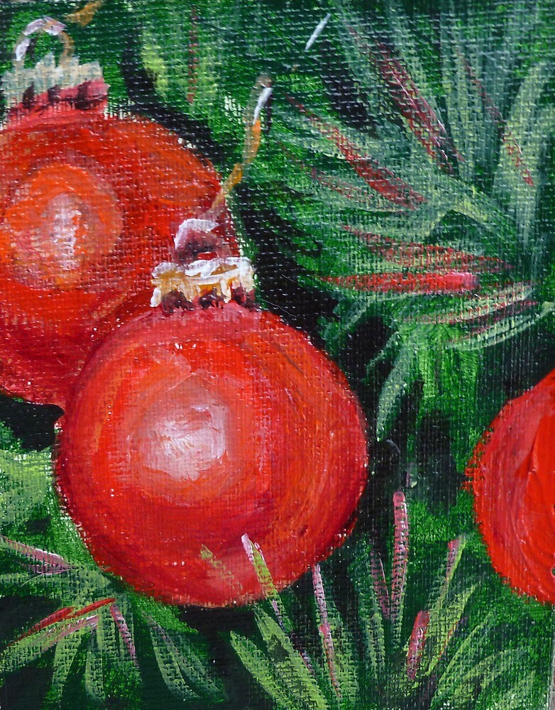 Christmas Tree Balls by Saga Sabin