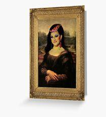 RPDR - Bendelacreme Mona Lisa Greeting Card