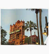 Tower of Terror- Hollywood Studios Poster