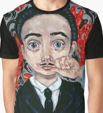 Young Salvaldor Dali Graphic T-Shirt