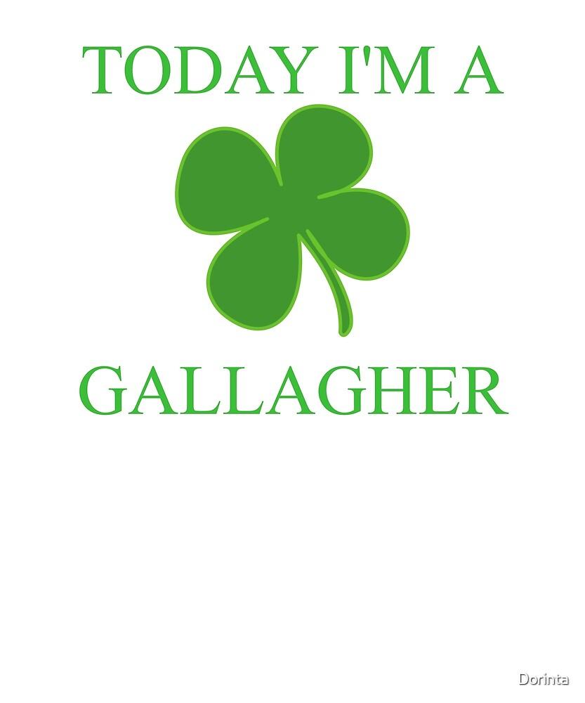 St patricks irish family drinking today im a gallagher shamrock st patricks irish family drinking today im a gallagher shamrock clover tshirt biocorpaavc