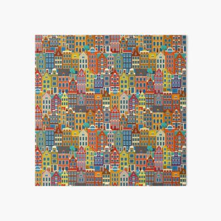 Amsterdam, saturated Art Board Print